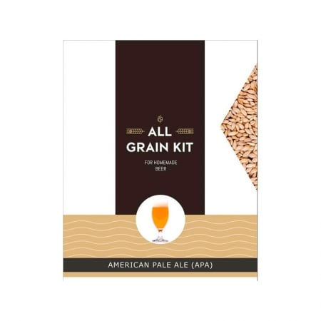 American Pale Ale allgrain ølsett