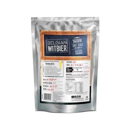 Belgian Witbier Pouch ekstrakt sett