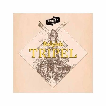 Belgisk Tripel ølsett