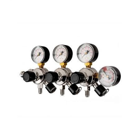 CO2 regulator. 3 utganger Ny type