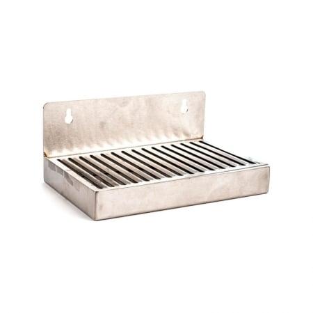 Drip tray 15cm med veggfeste