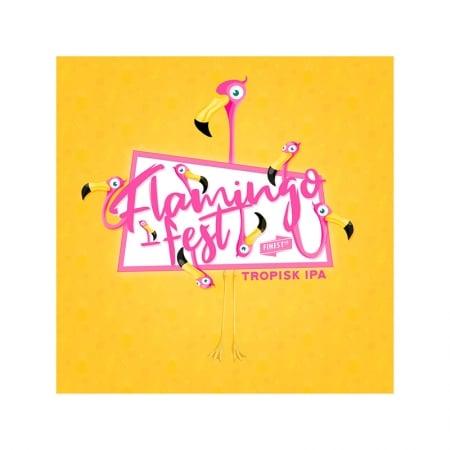 Flamingofest Tropisk IPA. En smak av sommer