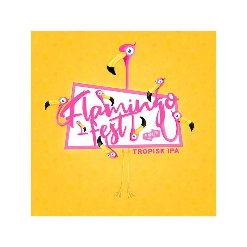 Flamingofest II Tropisk IPA. En smak av sommer