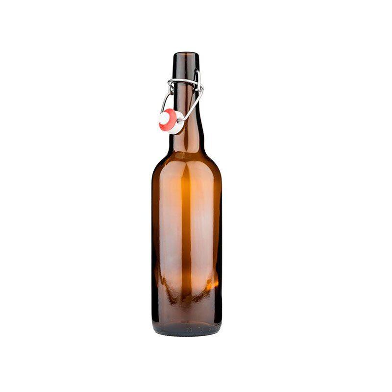 Flaske med patentkork. 0,75l