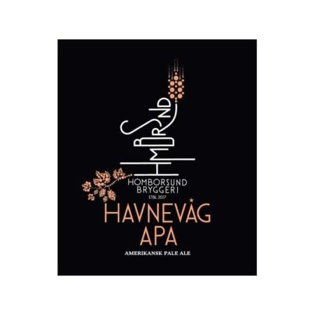 Havnevåg APA er en Amerikan Pale Ale