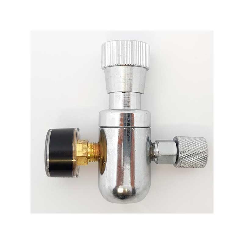 Mini regulator for 16g CO2 patron