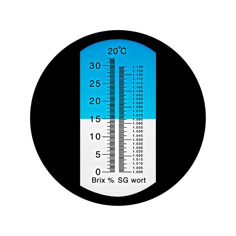Refraktometer ATC Brix og SG