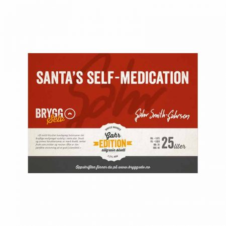 SANTA'S SELF MEDICATION Bryggesett