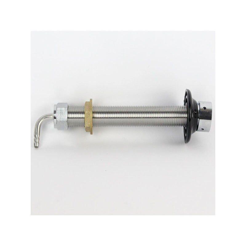 Shanks. Gjennomføring 15 cm i rustfritt stål