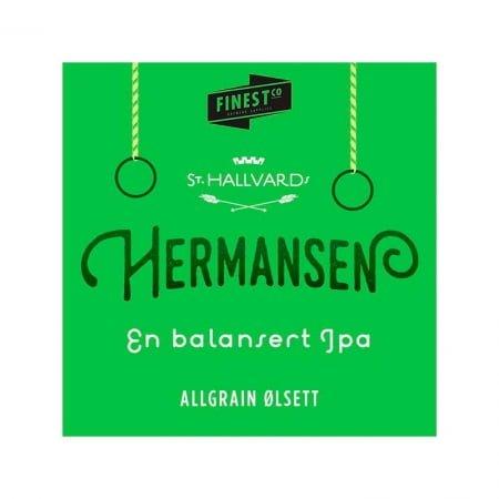 St. Hallvards Hermansen IPA Bryggesett