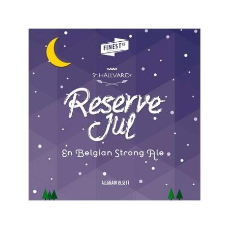 St. Hallvards Reserve Jul ølsett