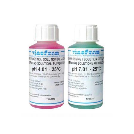 Vinoferm pH kalibreringsvæske pH 4 og 7