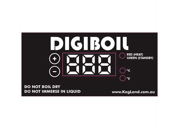 Digiboil digitalt display